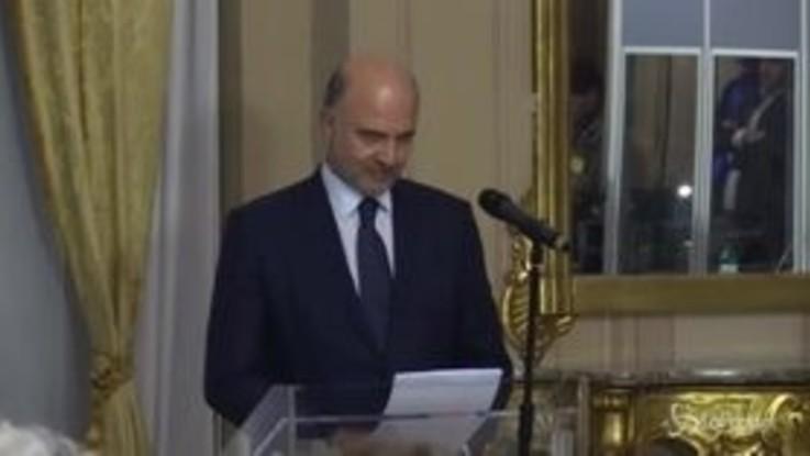 """Manovra, Moscovici: """"Commissione Ue non interferisce su scelte politiche"""""""