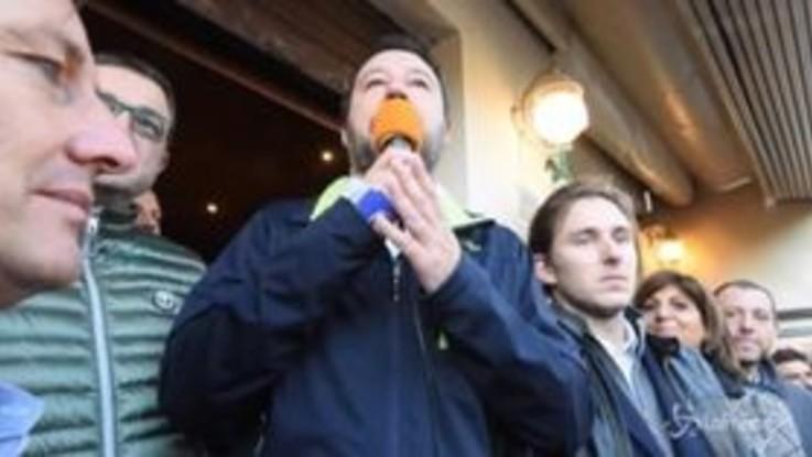 """Salvini in Trentino: """"Sulle Grandi Opere non si torna indietro"""""""