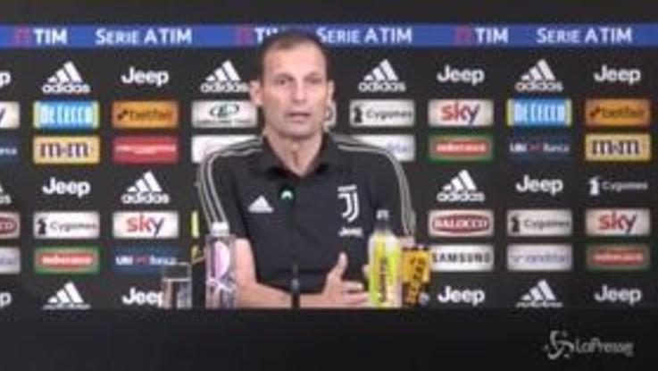 """Allegri avvisa la sua Juve: """"Dobbiamo tenere il profilo basso e pensare a lavorare"""""""