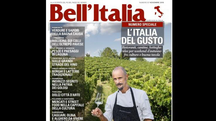 Bell'Italia, torna in edicola 'L'Italia del Gusto'