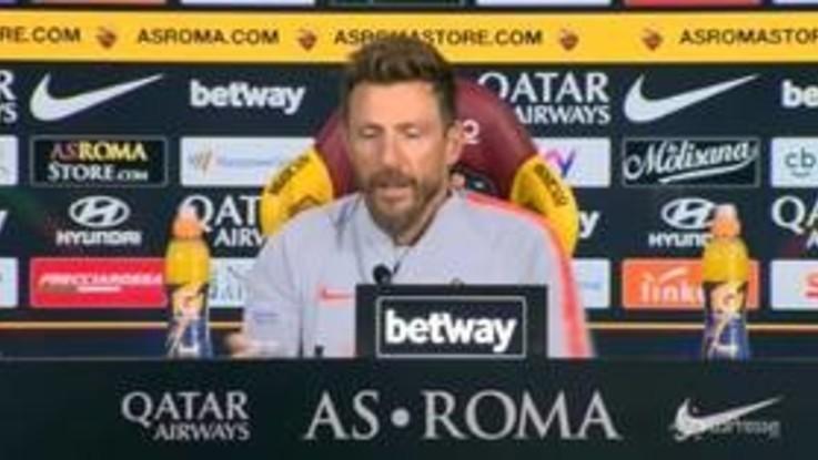 """Roma, Di Francesco: """"Kolarov-De Rossi out, spero di averli con Cska"""""""