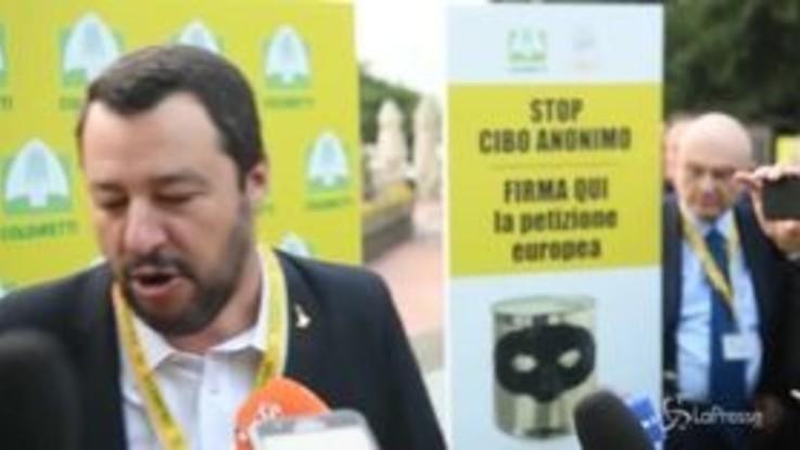 """Governo, Salvini: """"Non pongo condizioni a Di Maio e Conte"""""""