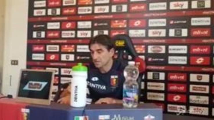 """Genoa, Juric: """"Possiamo fare bene contro la Juve"""""""