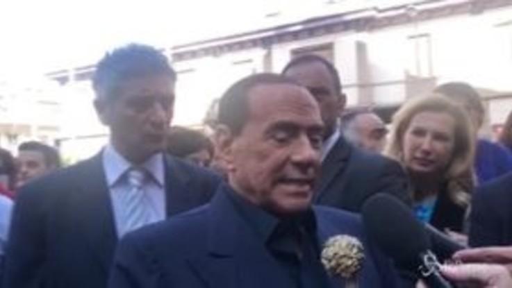 """Berlusconi su Salvini e Di Maio: """"Danno uno spettacolo negativo dell'Italia"""""""