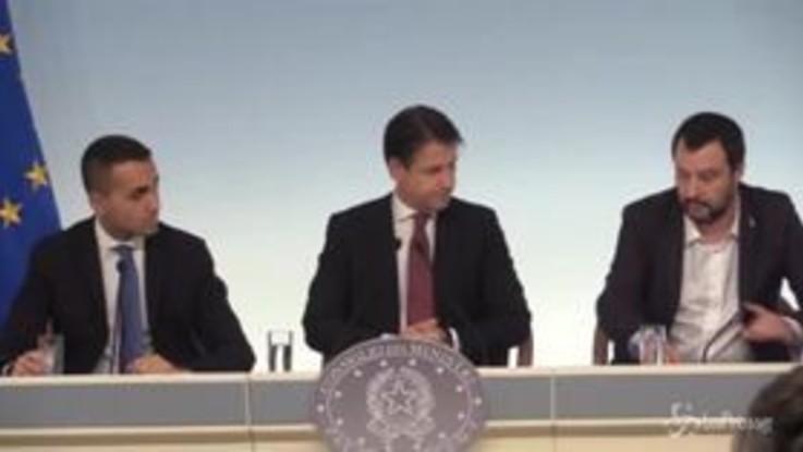 "Cdm, Salvini: ""Nessuna uscita dall'euro"""