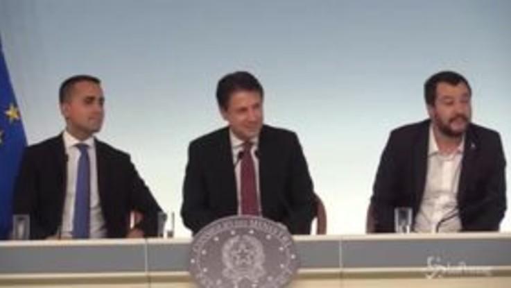 """Dl sicurezza, Di Maio: """"Troveremo soluzione agli 81 emendamenti"""""""