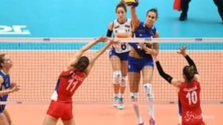 Mondiali volley femminile: argento per l'Italia battuta dalla Serbia