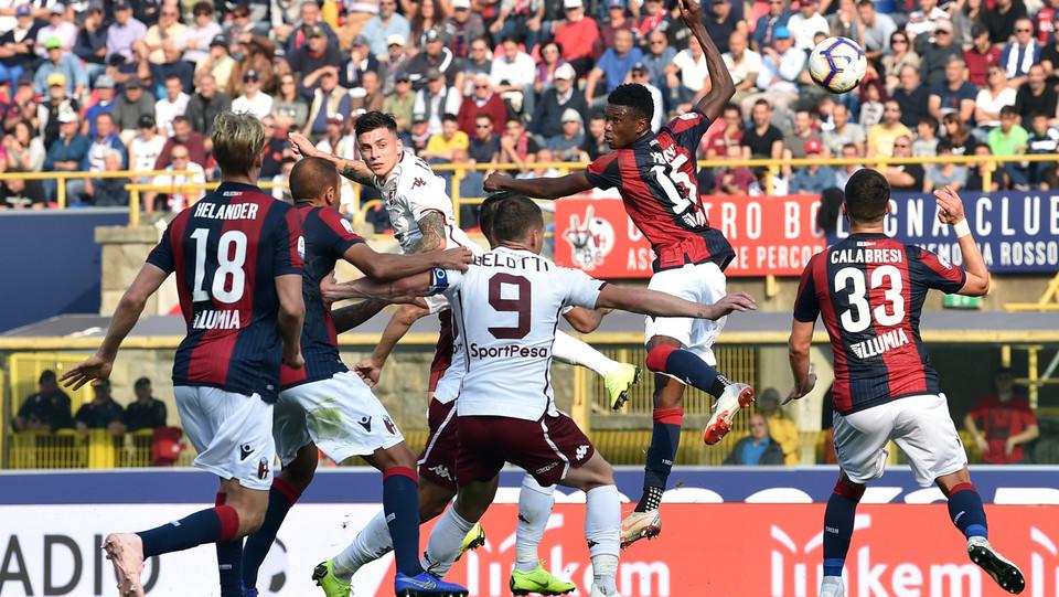 Daniele Baselli firma il secondo gol che conferma il vantaggio del Torino ©