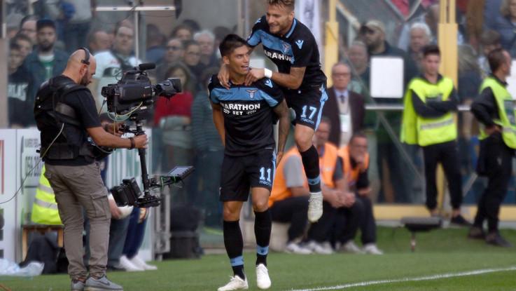 Serie A, Lazio corsara al Tardini: Parma ko 2-0