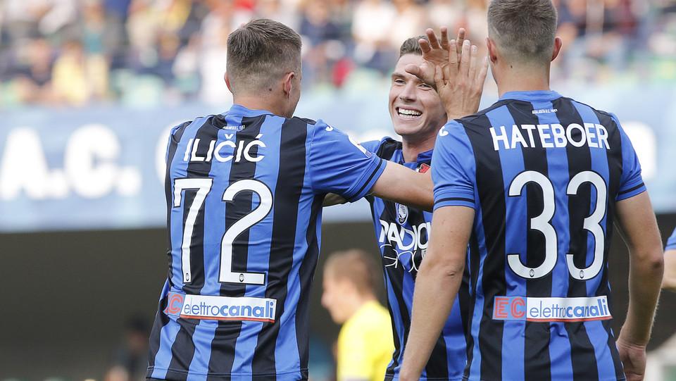 Tripletta per Ilicic che porta l'Atalanta a 4-0 ©