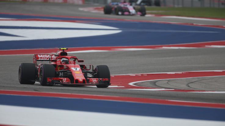 F1, Raikkonen trionfa ad Austin e rimanda festa Mondiale per Hamilton
