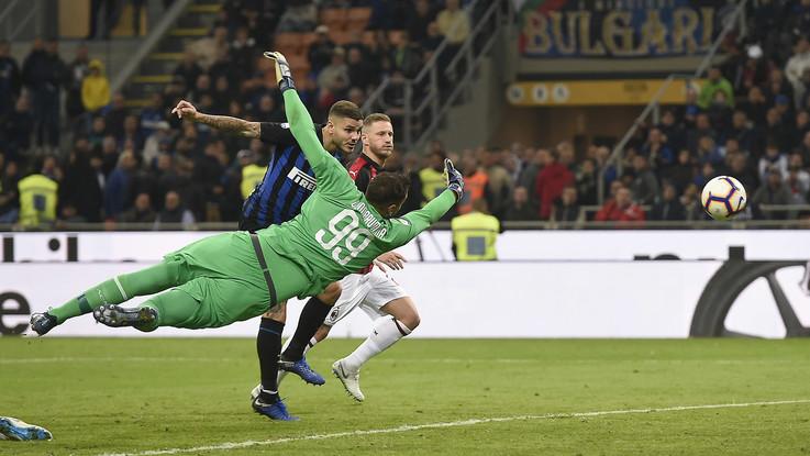 Serie A, Icardi al fotofinish lancia Inter: derby amaro per il Milan