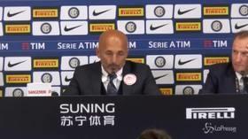 """Derby Inter-Milan: 1-0, Spalletti: """"Rossoneri hanno più qualità? Sì, ma bisogna vedere se Gattuso riesce ad usarla"""""""