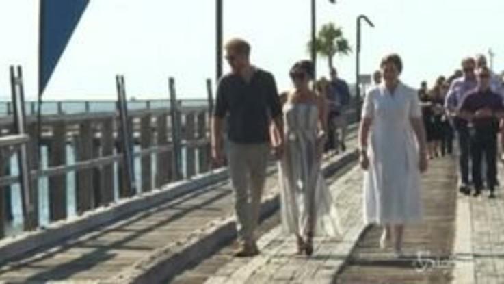 Harry e Meghan a Fraser Island