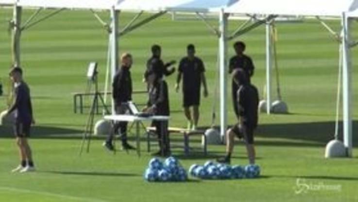 Champions, la Juventus si prepara per il Manchester United