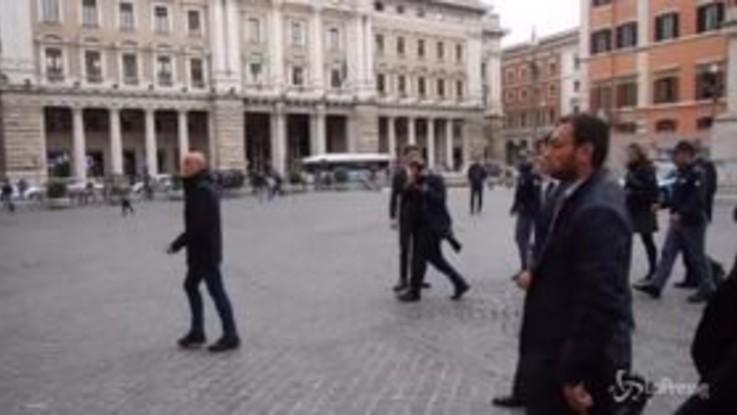 """""""Striscia la notizia"""", Conte scherza con Ballantini che lo imita"""