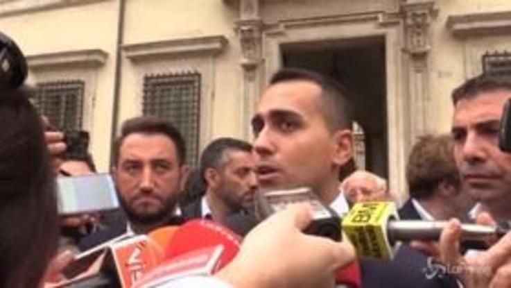 """Di Maio: """"Non vogliamo uscire dall'Euro"""""""