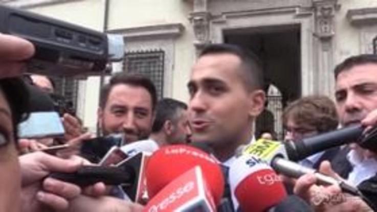 """Manovra, Di Maio: """"Noi nel giusto, non abbiamo paura della Commissione Europea"""""""