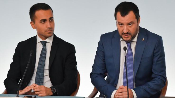 M5S-Lega: Di Maio vuole 'patto di non belligeranza' con Salvini per le europee