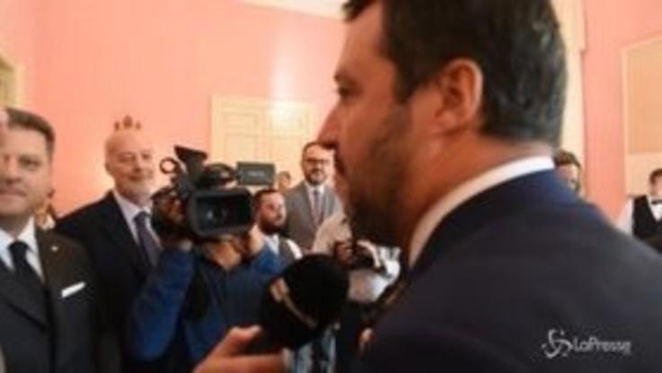 """Claviere, Salvini contro la Francia: """"Stop agli scaricamenti nei boschi, per fesso non ci passo"""""""