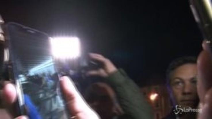 Roma: cede scala mobile nella metro A, feriti diversi tifosi Cska Mosca