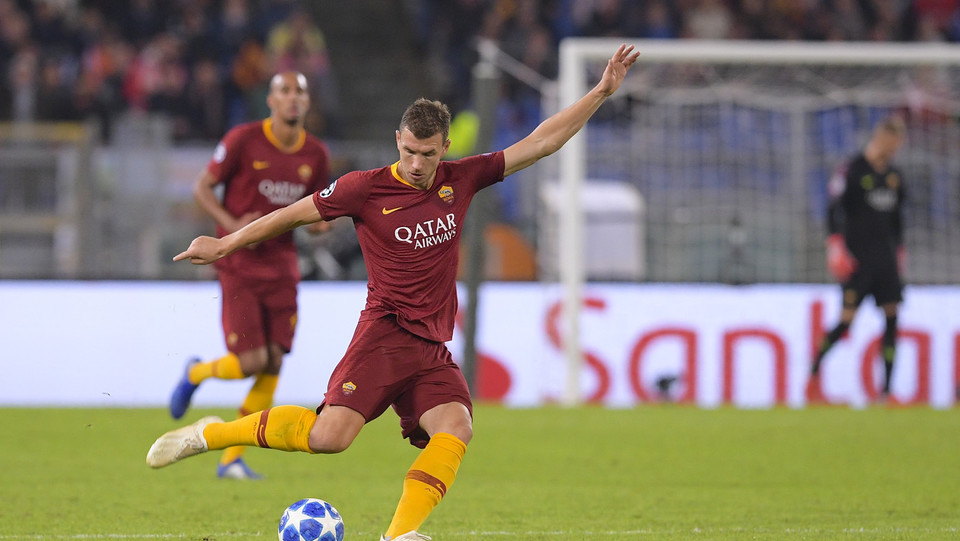 43' Doppietta Dzeko, grazie all'assist di El Shaarawy 2-0 ©