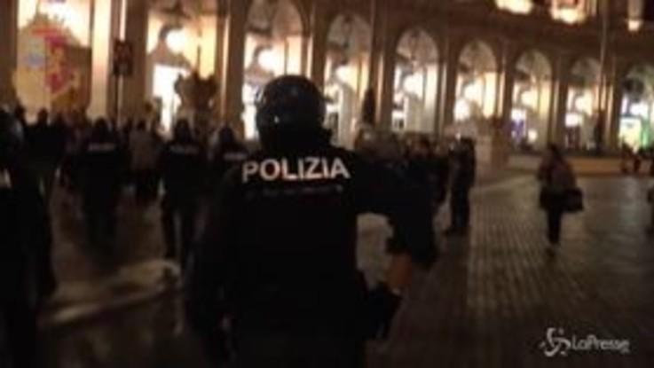 Incidente in metro a Roma, l'intervento della polizia