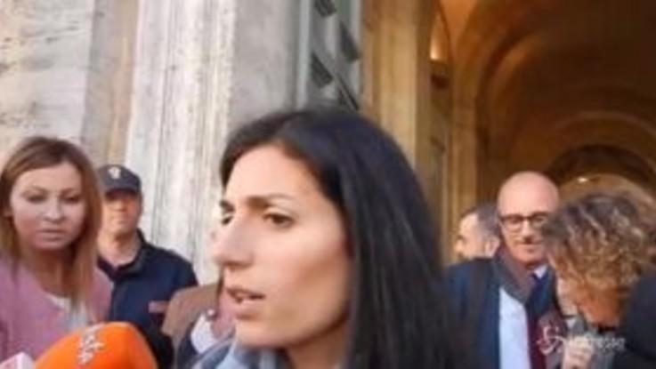 """Desirée, Raggi: """"Pronta ad accompagnare Salvini in luoghi dimenticati da Stato"""""""