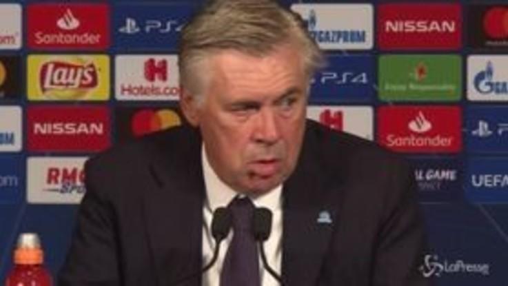 """Ancelotti: """"Per lo sforzo fatto avremmo meritato di vincere"""""""