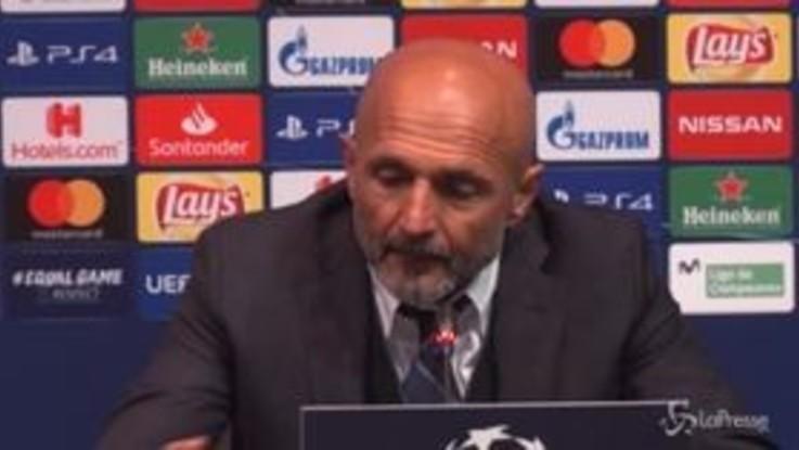 """Spalletti esalta il Barca: """"Anche senza Messi ci ha creato diversi problemi"""""""