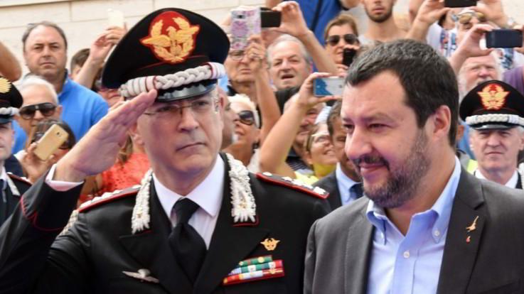 """Caso Cucchi, Salvini ai carabinieri: """"L'errore di uno non infangherà l'impegno di tanti"""""""