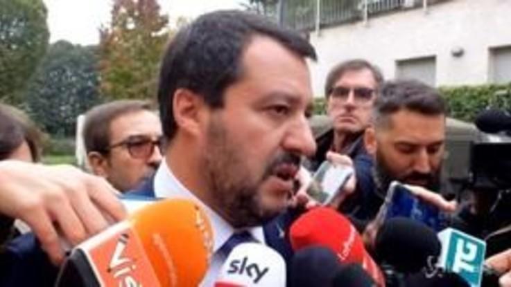 """Salvini annuncia: """"L'8 dicembre manifestazione della Lega a Roma"""""""