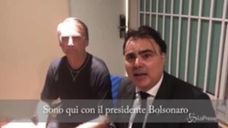 "Bolsonaro risponde a Salvini: ""Se vinco vi regalo Battisti"""