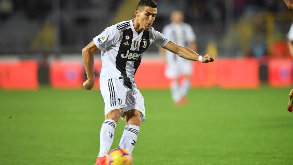70' Doppietta di Ronaldo! E la Juventus passa in vantaggio ©