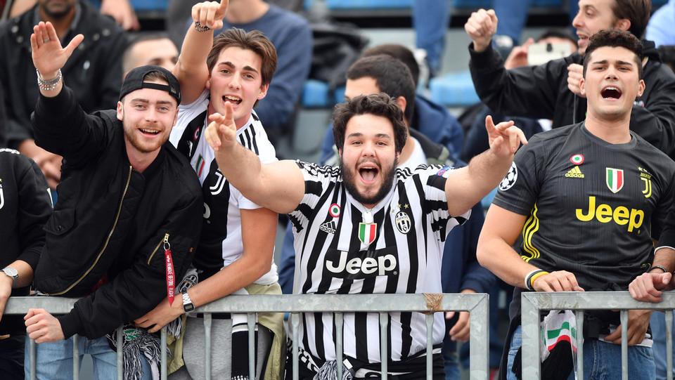 la gioia dei tifosi bianconeri ©