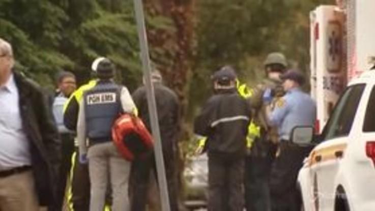 Spari in una sinagoga a Pittsburgh: 8 morti, fermato assalitore