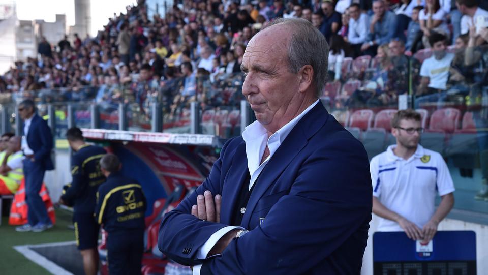L'allenatore del Chievo Ventura ©