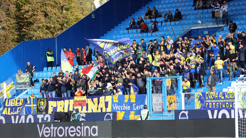 I tifosi del Frosinone ©