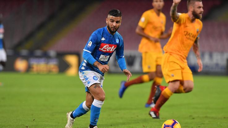 Serie A, pagelle Napoli-Roma: Mertens letale, Insigne nullo. Muro Manolas