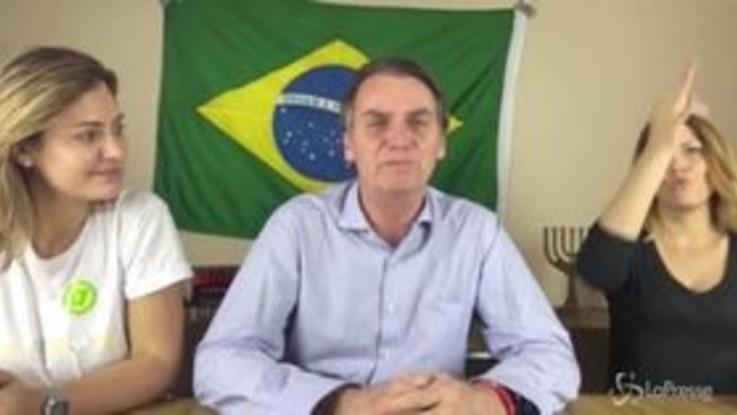 """Svolta a destra per il Brasile, Bolsonaro: """"Cambieremo il destino del Paese"""""""