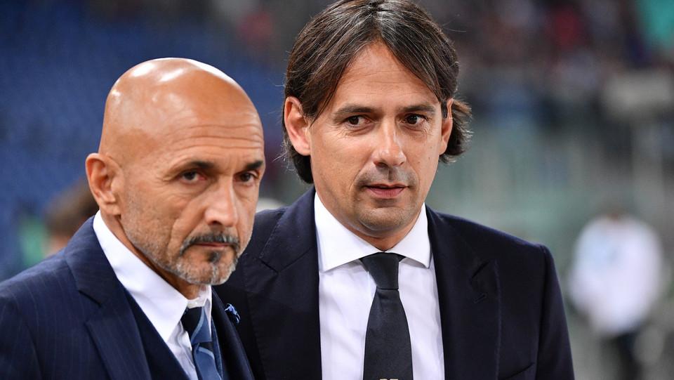 I tecnici di Lazio e Inter, Simone Inzaghi e Luciano Spalletti ©