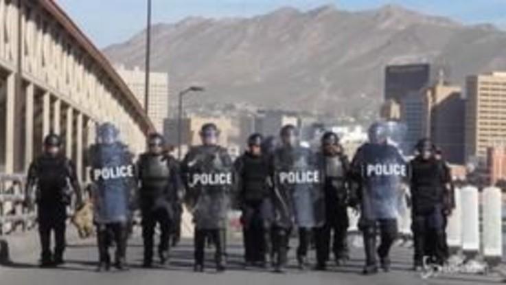 Carovana migranti, oltre 5 mila militari Usa alla frontiera col Messico