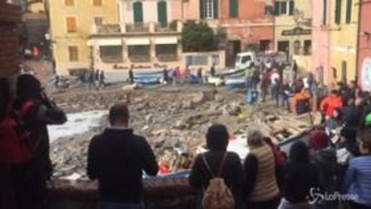 Genova colpita al cuore, Boccadasse distrutta dal mare