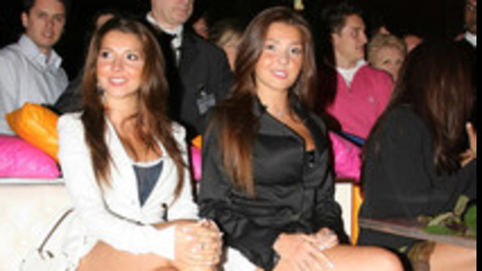 Le gemelle Guerrera, Manuela a destra ©