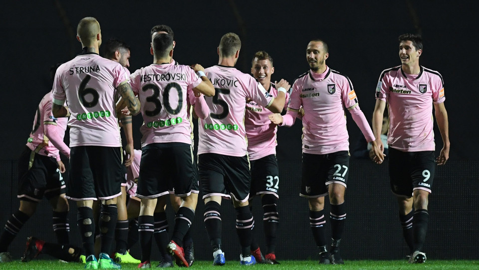 Carpi - Palermo 0-3 - Dopo il gol di Jajalo ©