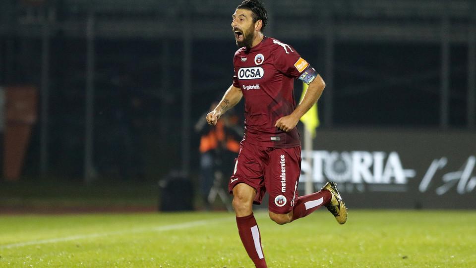 Cittadella-Foggia 1-1 -Iori festeggia il suo gol ©