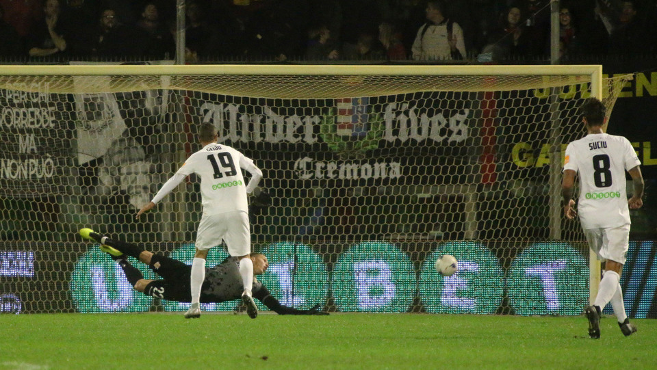 Cremonese - Venezia 0-1 - Il gol decisivo di Di Mariano ©