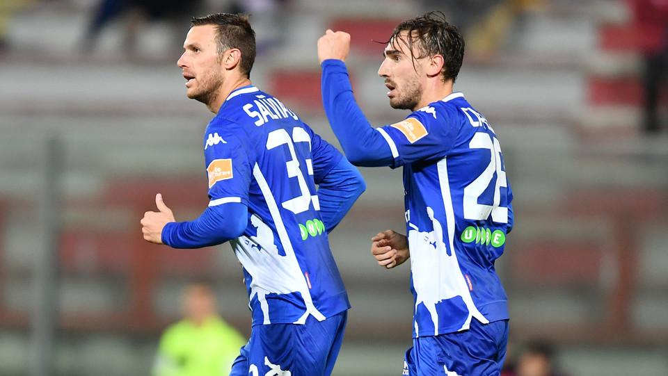 Perugia-Padova 3-2 - Capello dopo il gol del pari ©