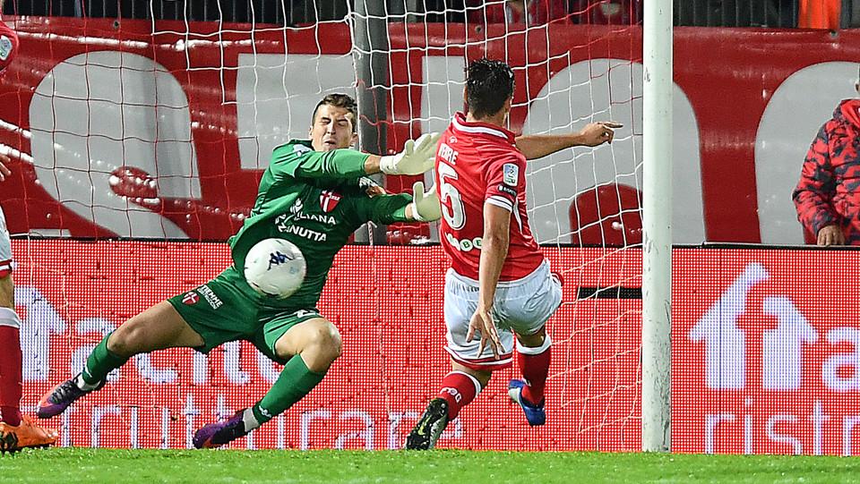 Perugia-Padova 3-2 - Il gol di Verre ©