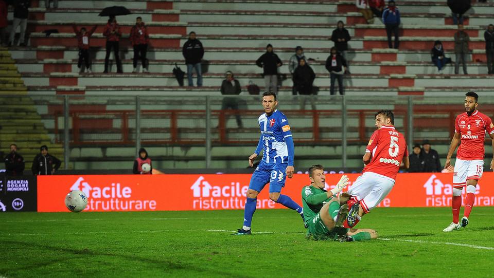 Perugia-Padova 3-2 - Il gol dell'1-0 di Verre ©